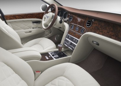 White Ghost inside before bentley