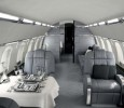 Private Jet Gray Interior Versace & TAG Aircraft