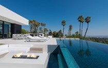 Villa design Laurel Way Pool Los Angeles