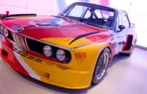 BMW art cars paris calder csl