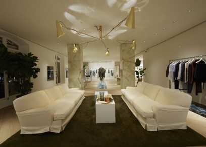 Céline Paris Montaigne interior shop