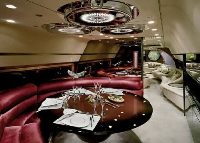 Inside the most opulent private jet