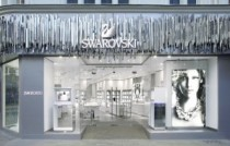 Swarovski new shop china