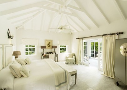 Tropical Suite Bedroom Cheval Blanc St Barth