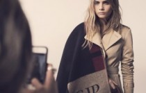 Cara Delevingne for Burberry personalisation