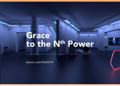 Kenzo Fall 2014 - Grace To The Nth Power