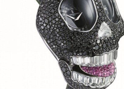 Crazy Skull black diamonds de Grisogono