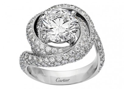 THE PROPOSAL Solitaire Trinity Ruban Vincent Wulveryck © Cartier 2013