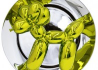 Jeff Koons_Balloon Dog_yellow_Bernardaud