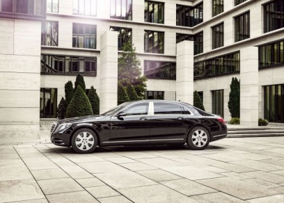 Mercedes-Maybach S 600 Guard carrosserie