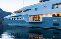 Amels 199 event yacht terrasse