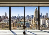 Fernando Botero's Upper East Side Home and Art Studio window