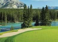 Terrain Golf Fairmont Banff Springs au Canada