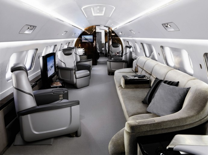 Embraer Lineage 1000 interieur