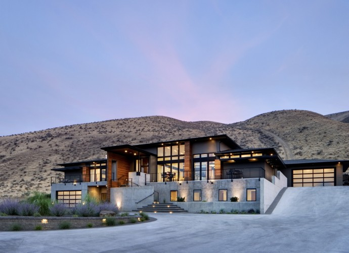 Exterieur Badger Mountain House