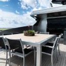 Outside deck Yacht Sanlorenzo 40