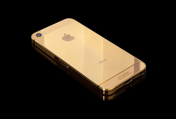 iPhone 5s Elite en Or