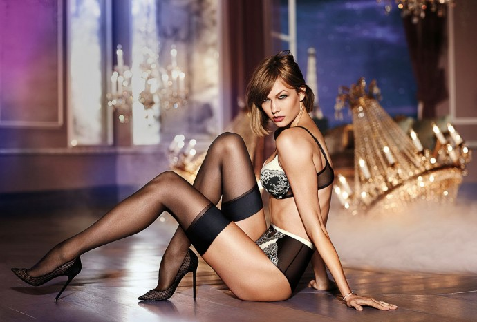 Very sexy lingerie Karlie Victoria Secret