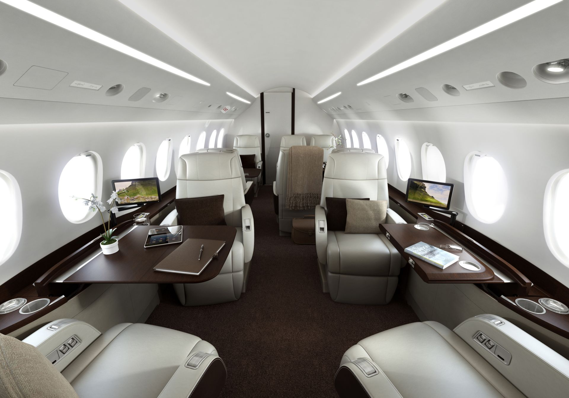 Inside A Private Jet With A Bathroom  Wwwgalleryhip  The Hippest Pics