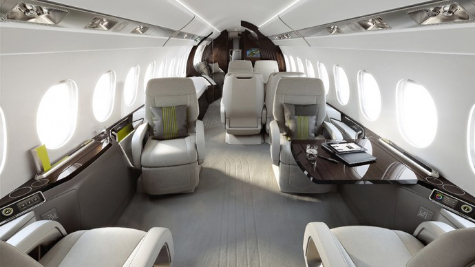 Falcon 5X Interior Design