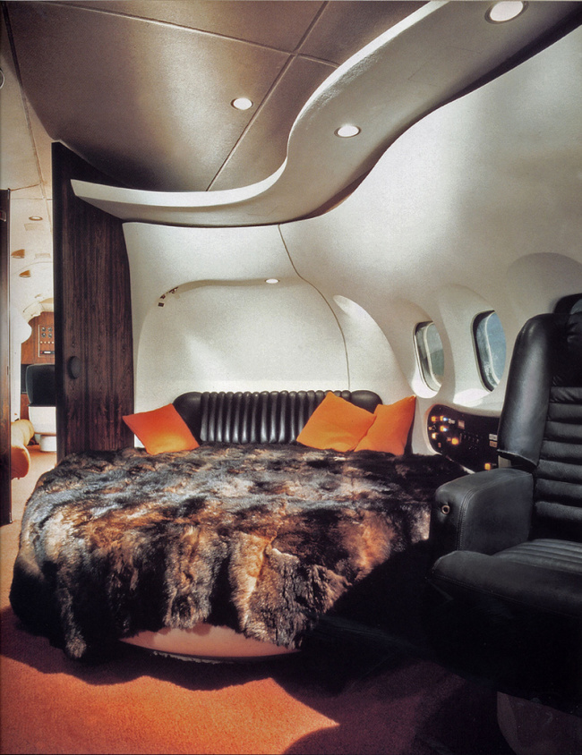 Charming Hugh Hefner Playboy Private Jet
