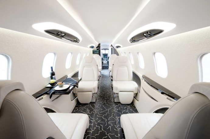 17 of the most beautiful private jets interiors in 2013. Black Bedroom Furniture Sets. Home Design Ideas