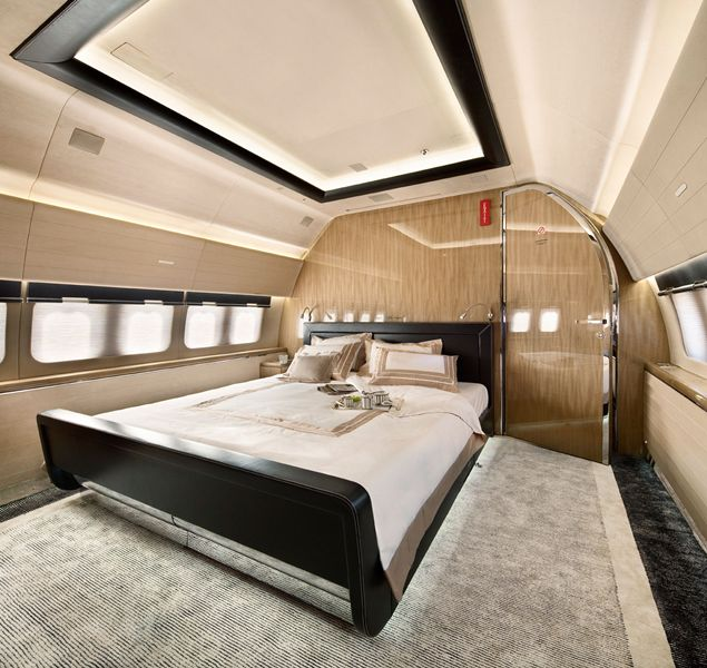 Nice The Master Private Bedroom Boeing 737 BBJ