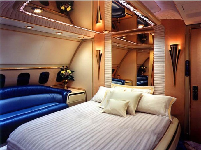 Superior Jet Private Room Of The Bruneiu0027s Sultan