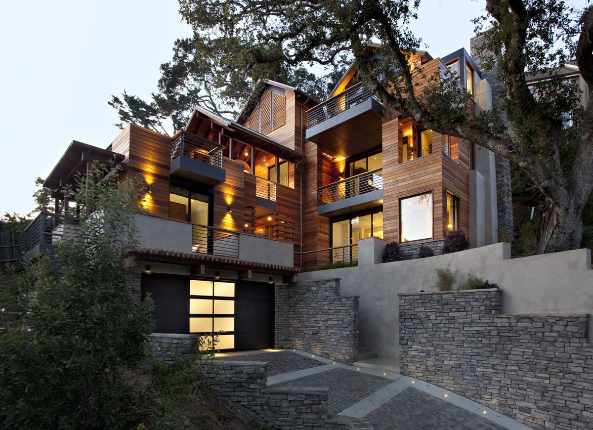 The Hillside House By SB Architects San Francisco