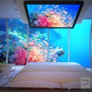 Chambre sous marine Discus hotel