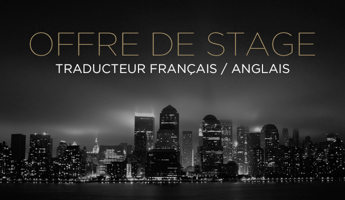 Offre de stage LuxuryDesign traducteur