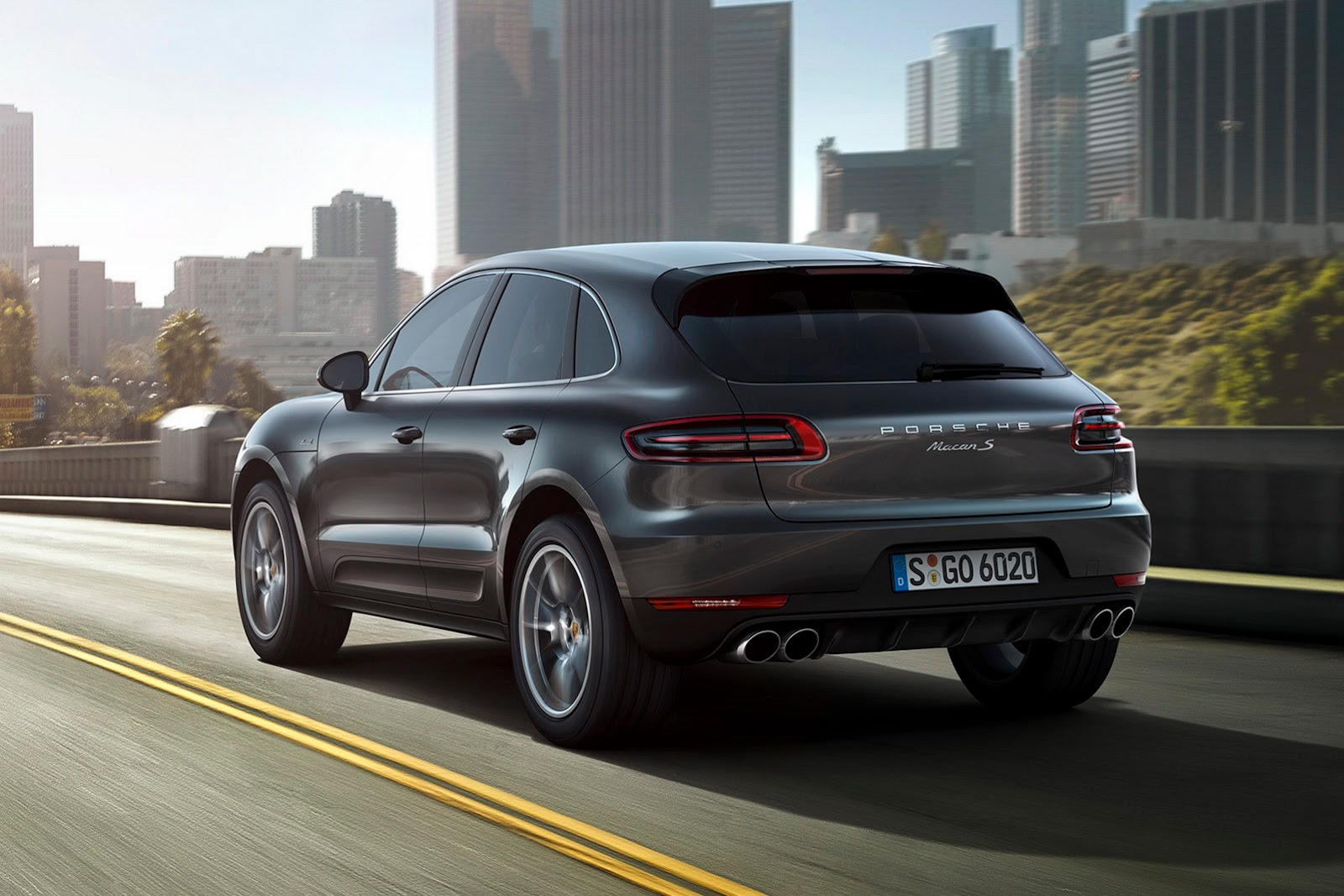 porsche macan turbo le suv sportif au design d un 4x4. Black Bedroom Furniture Sets. Home Design Ideas
