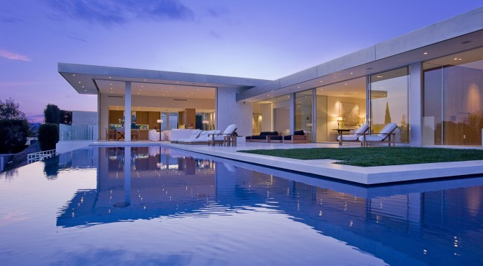 Villa design Hollywood Hills Residence