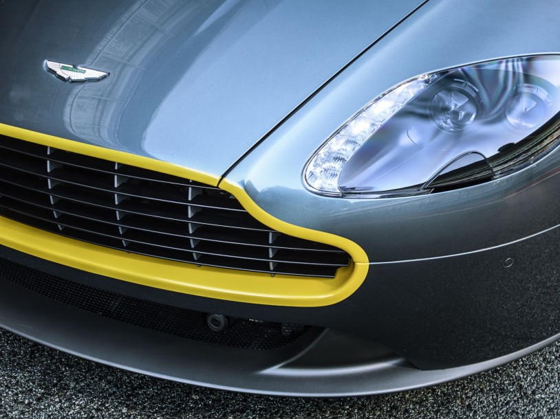 Aston martin N430 brg yellow front