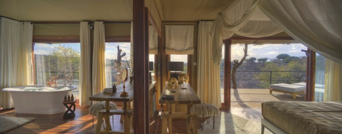Legendary Expeditions Mwiba Lodge Suite