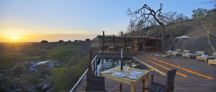 Legendary Expeditions Mwiba Lodge Sunset