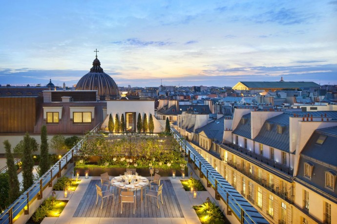 Paris Mandarin Suite Terrace