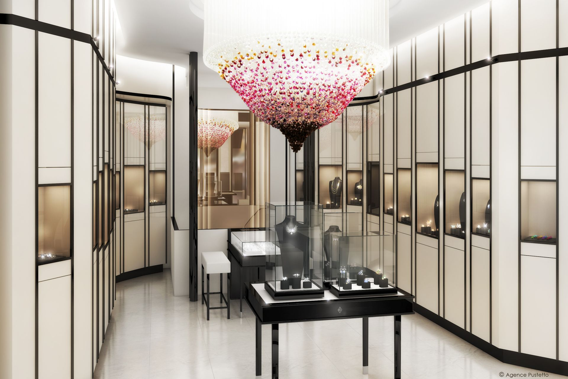 new lalique boutique dedicated to fine jewellery in paris. Black Bedroom Furniture Sets. Home Design Ideas