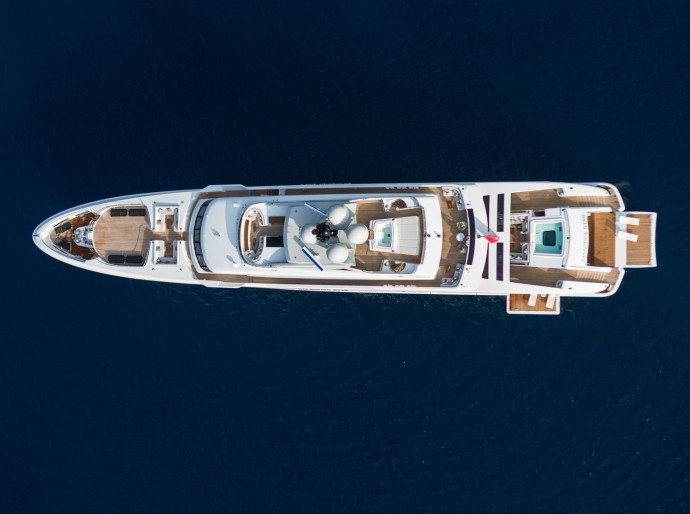 Heesen galactica star upper view
