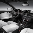 Audi rs7 sportback red interior dashboard