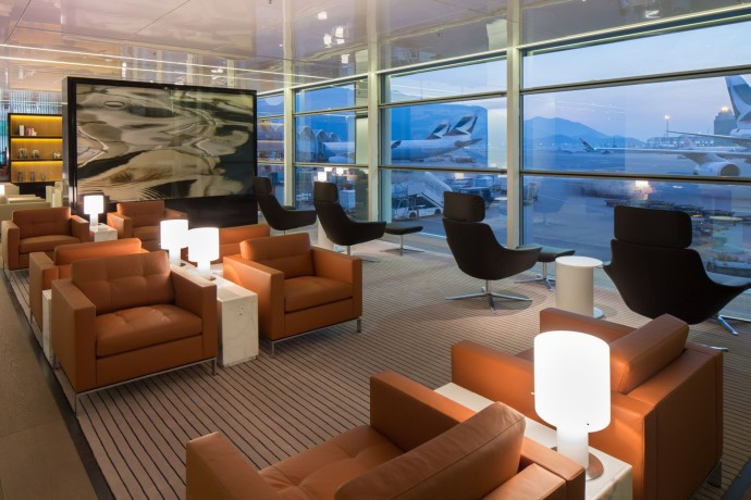 Espace Lounge The Bridge - Cathay Pacific de Hong Kong