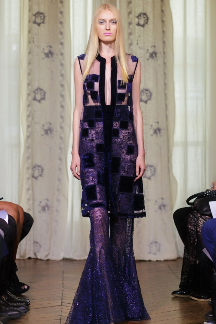 Dany Atrache fashion week haute couture automne hiver 2014 2015 look 19