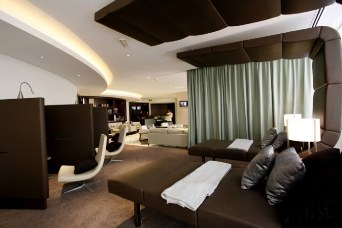 Etihad Diamond First Class Lounge – Abu Dhabi
