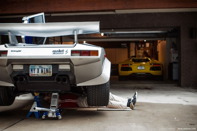 Lamborghini Countach repair