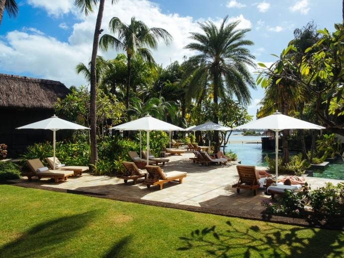 Le Touessrok hotel luxe Ile Maurice pool
