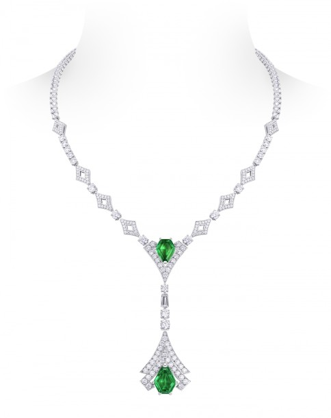 Louis Vuitton - Acte V - Metamorphosis Necklace - Pandjshir Emeralds