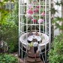 Mandarin Oriental Palace paris-hotel-restaurant-camelia-butterfly-enclosure-family-2
