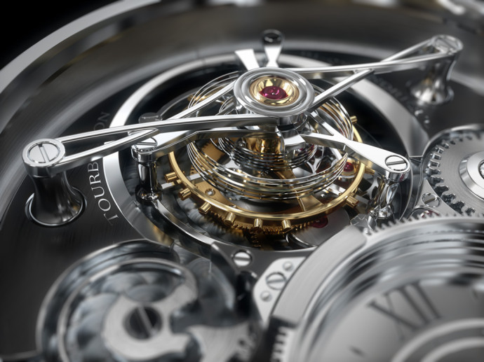 Montre Luxe Tourbillon