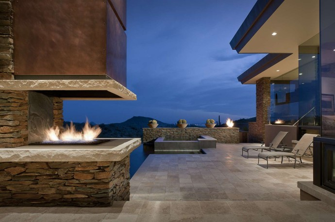 Luxury Fireplaces Luxury Homes The 40 Most Beautiful Terraces With Fireplaces