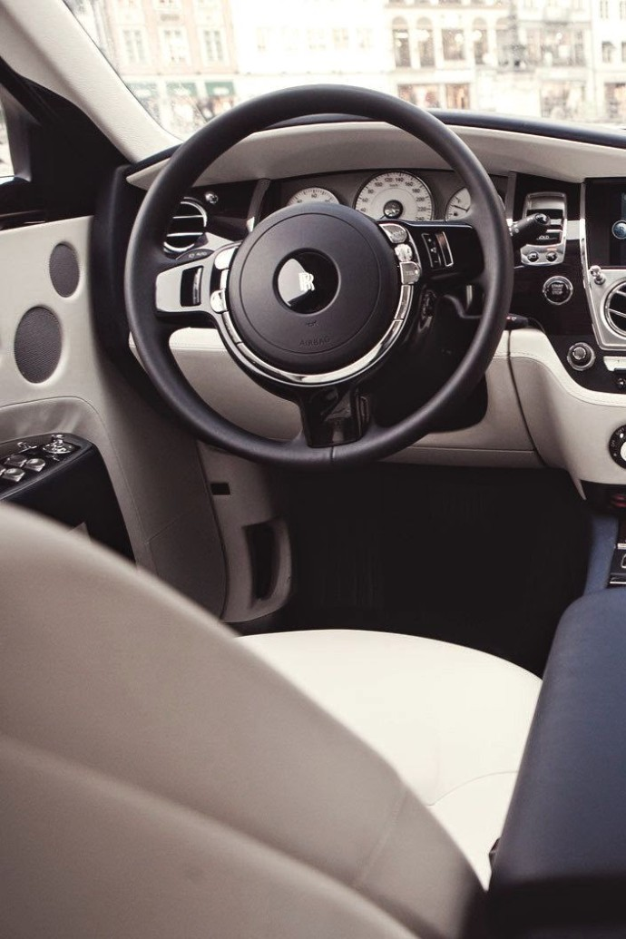 Roll Royce interior